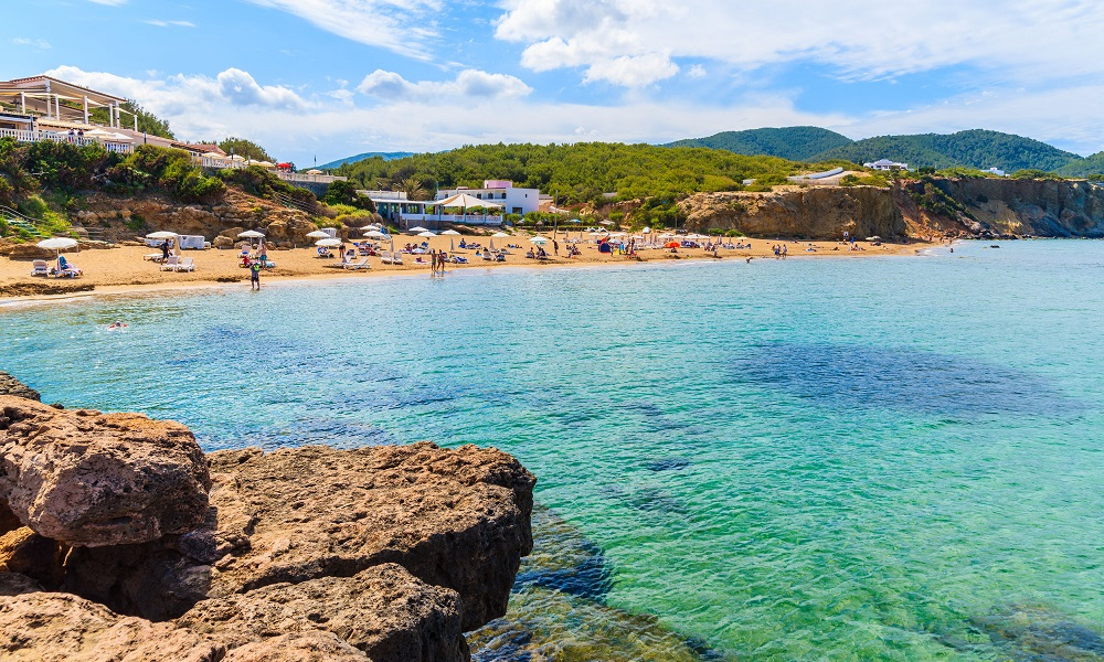Strand Es Figueral - Ibiza