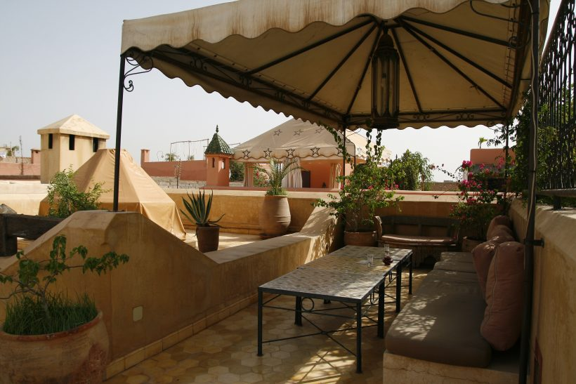 Dakterras riad in Marrakech