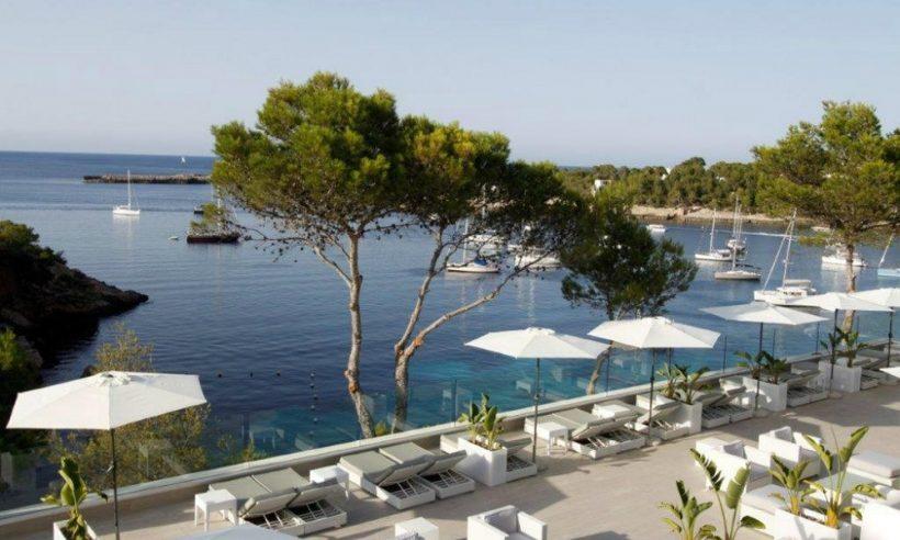 Hotel Club Portinatx uitzicht