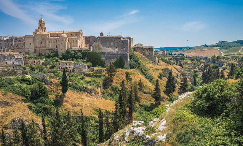 Landschap Puglia, Italie