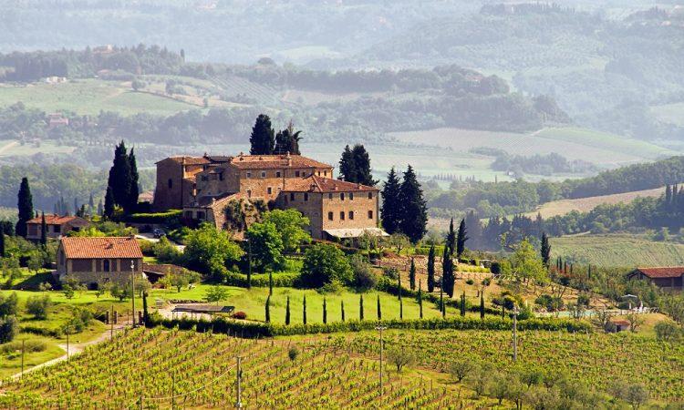 landschap Toscane - Italie