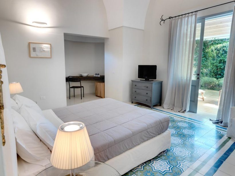 Masseria Li Foggi slaapkamer – Puglia