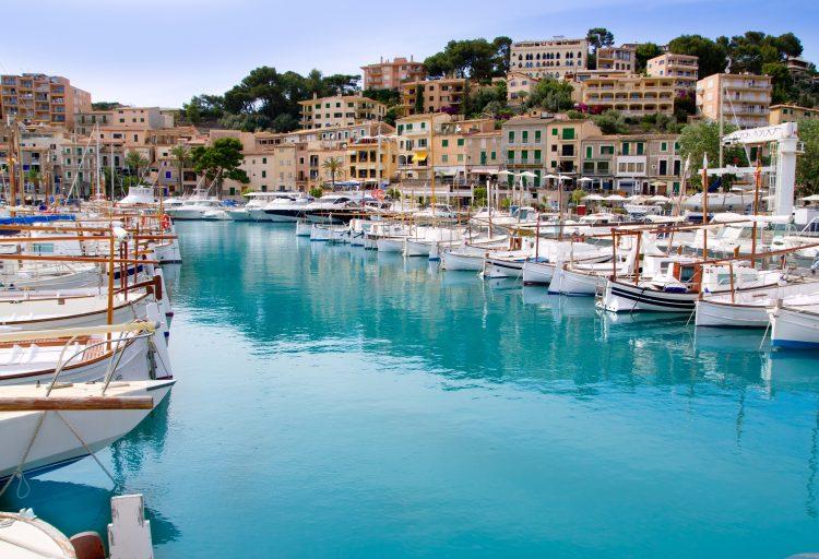 Havenstadje op Mallorca