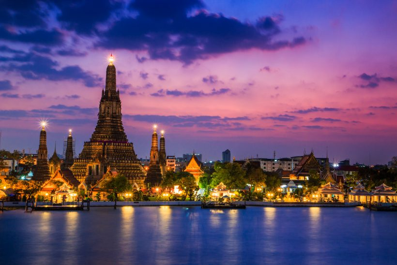 Wat Arun Temple in bangkok asia Thailand