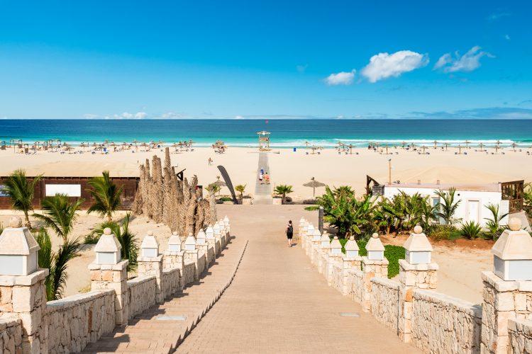 Boa Vista Kaapverdie - Chaves beach