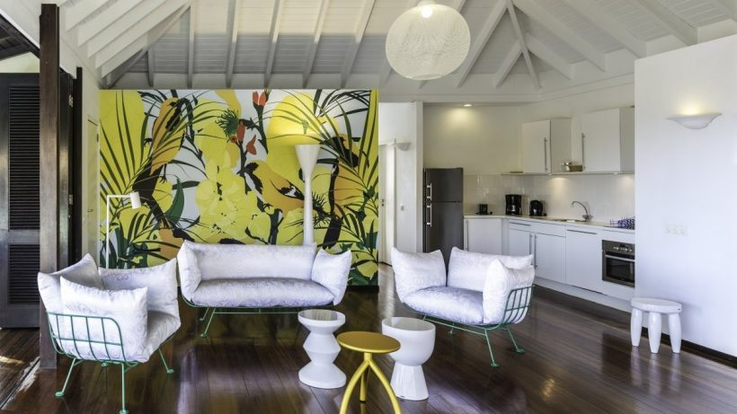 Interieur villa Papagayo – Curacao