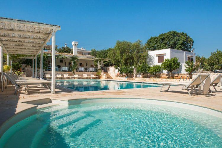 Masseria Salinola zwembad