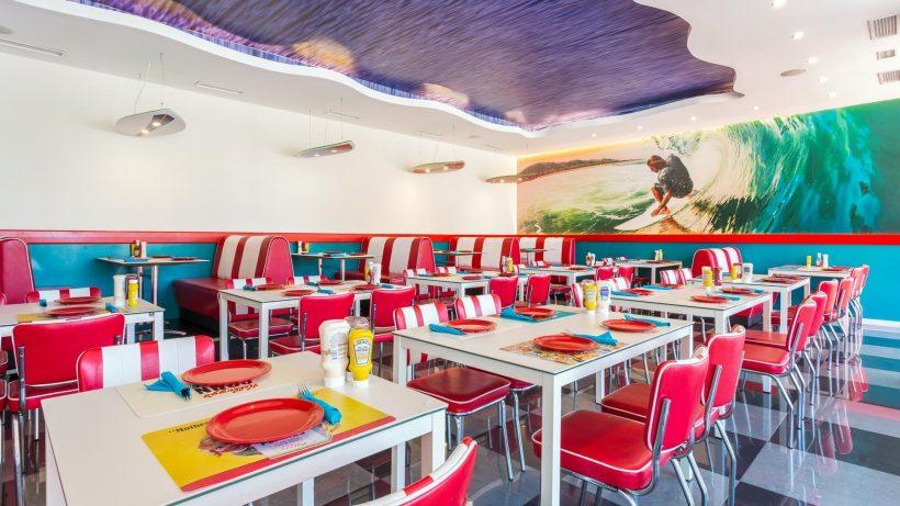 Amerikaans restaurant Sirenis Seaview Country Club – Ibiza