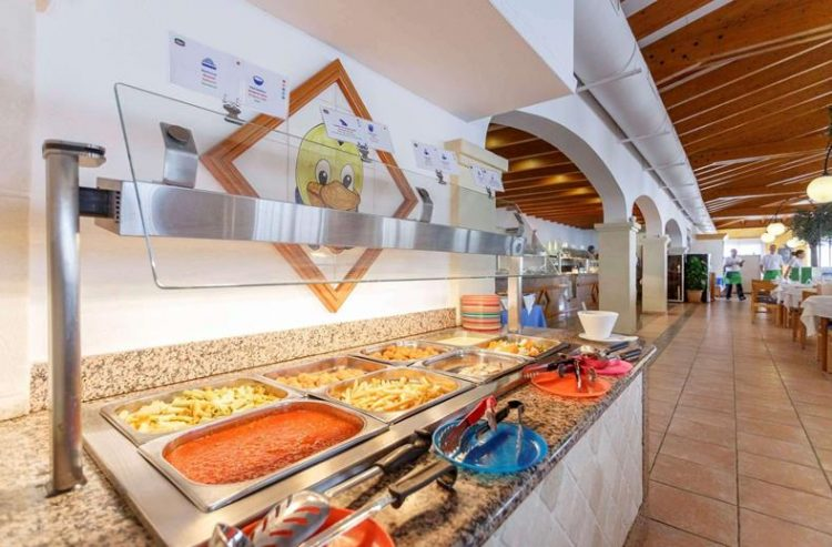 Kinderbuffet Royal Son Bou – Menorca