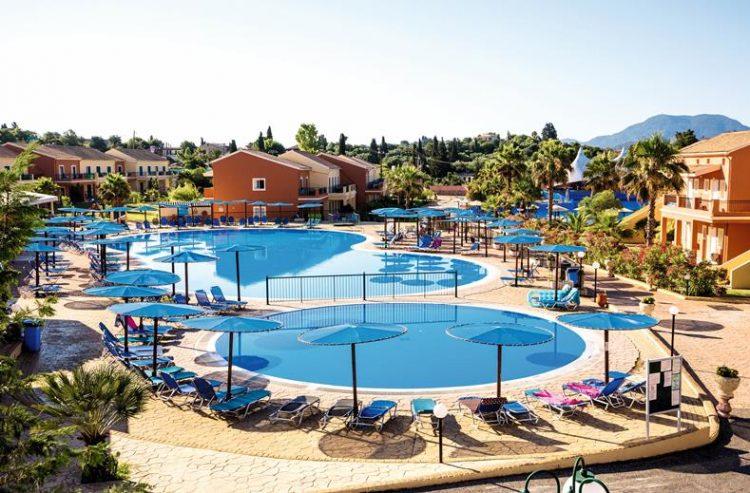 Zwembad Aqualand Village – Corfu